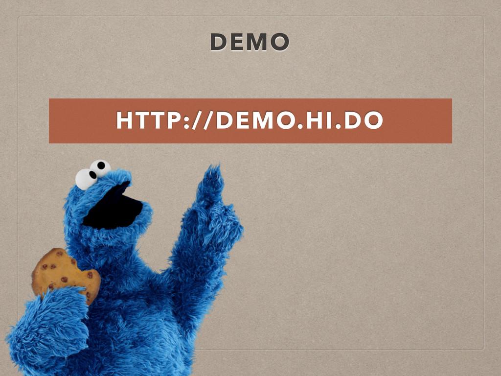 DEMO HTTP://DEMO.HI.DO