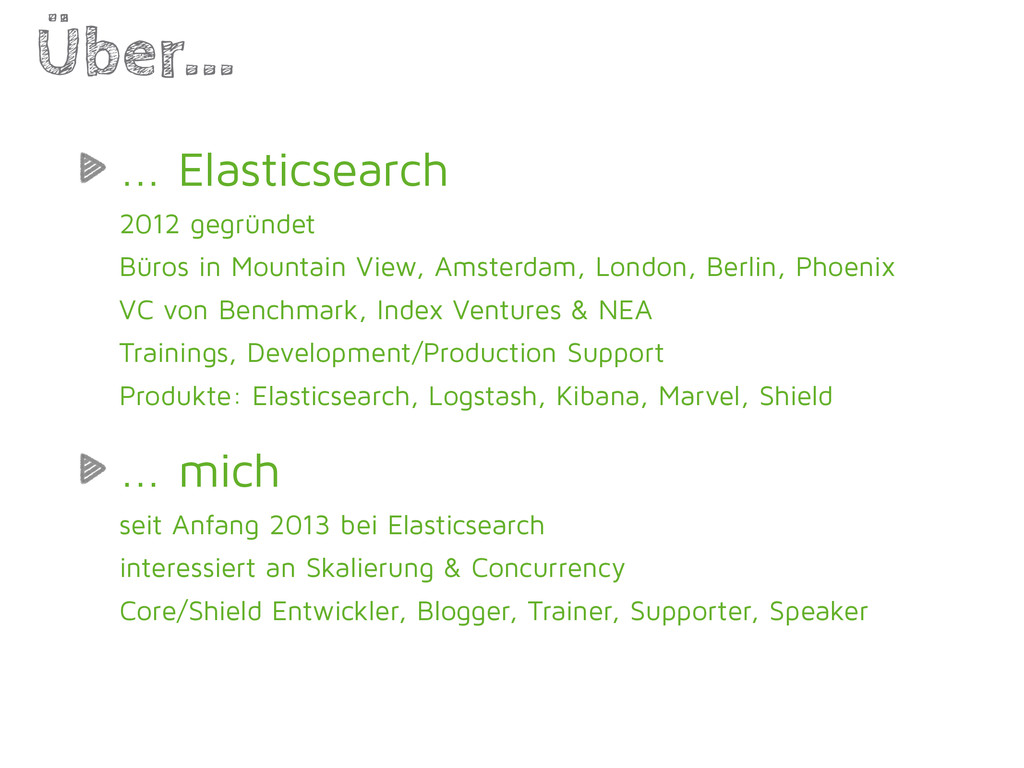 ... Elasticsearch 2012 gegründet Büros in Mount...