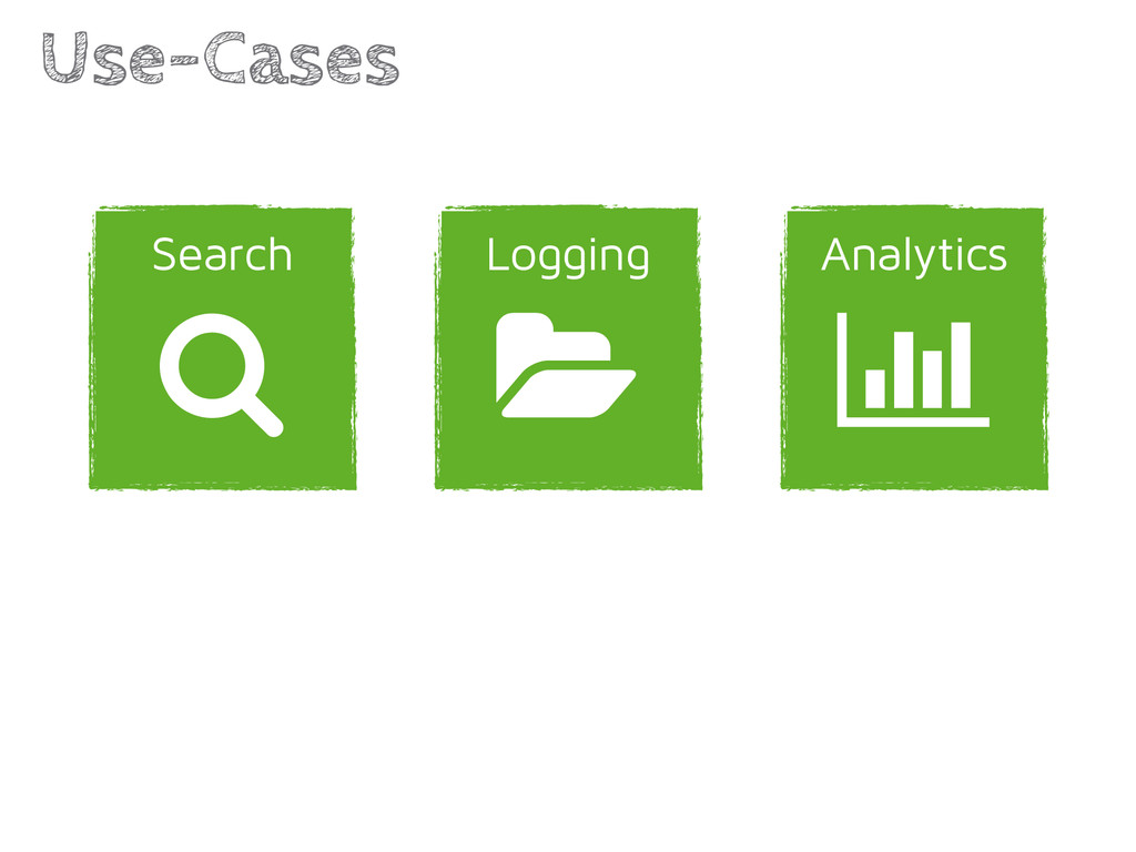Analytics Logging Use-Cases | 1 Search /