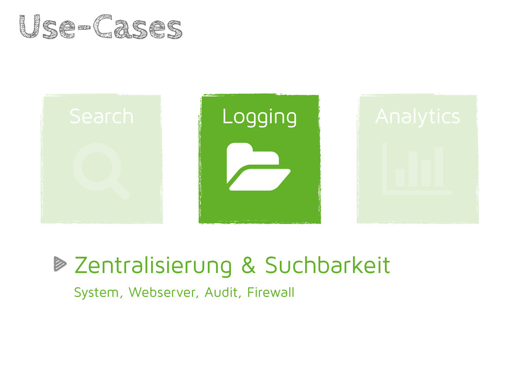 Analytics Logging Use-Cases | 1 Search / Zentra...