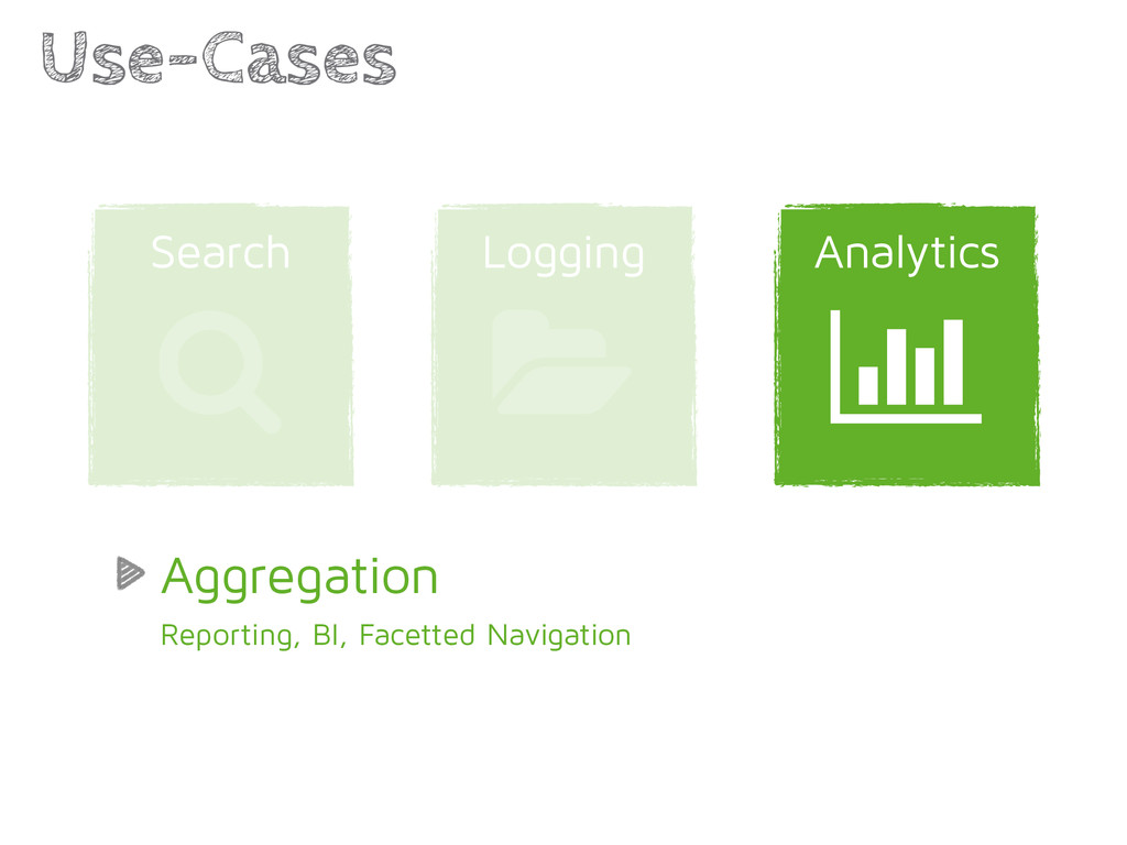 Analytics Logging Use-Cases | 1 Search / Aggreg...