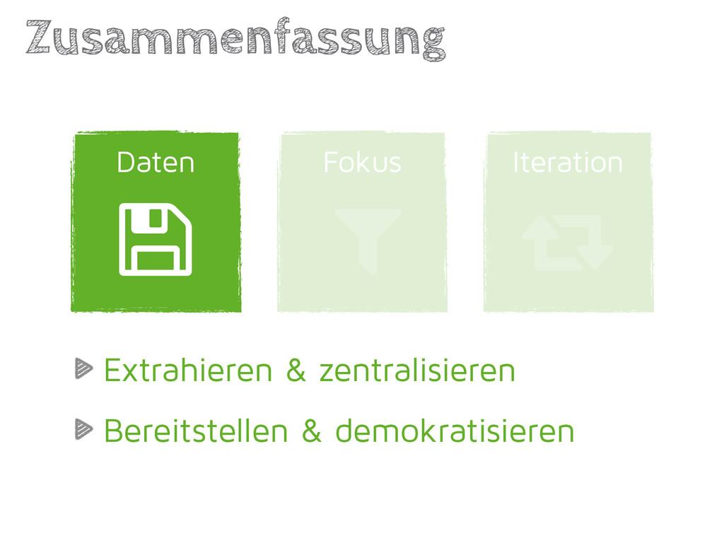 Zusammenfassung Daten Fokus Iteration 3 4 5 Ext...