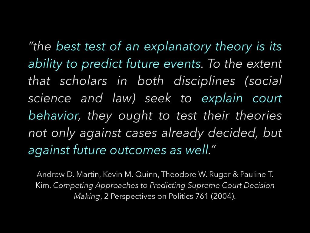 Andrew D. Martin, Kevin M. Quinn, Theodore W. R...