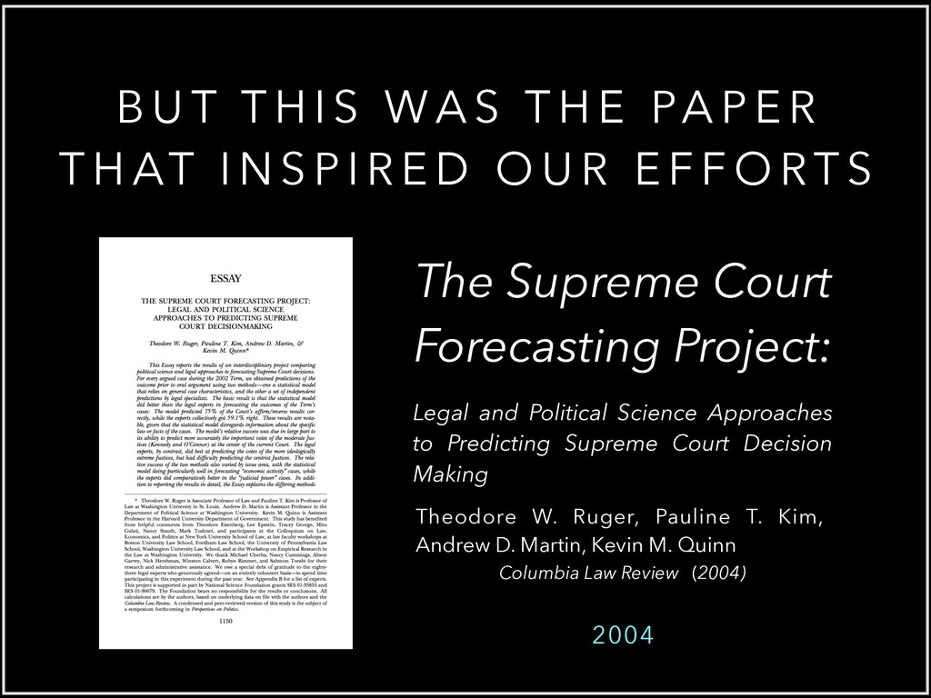 Columbia Law Review (2004) Theodore W. Ruger, P...