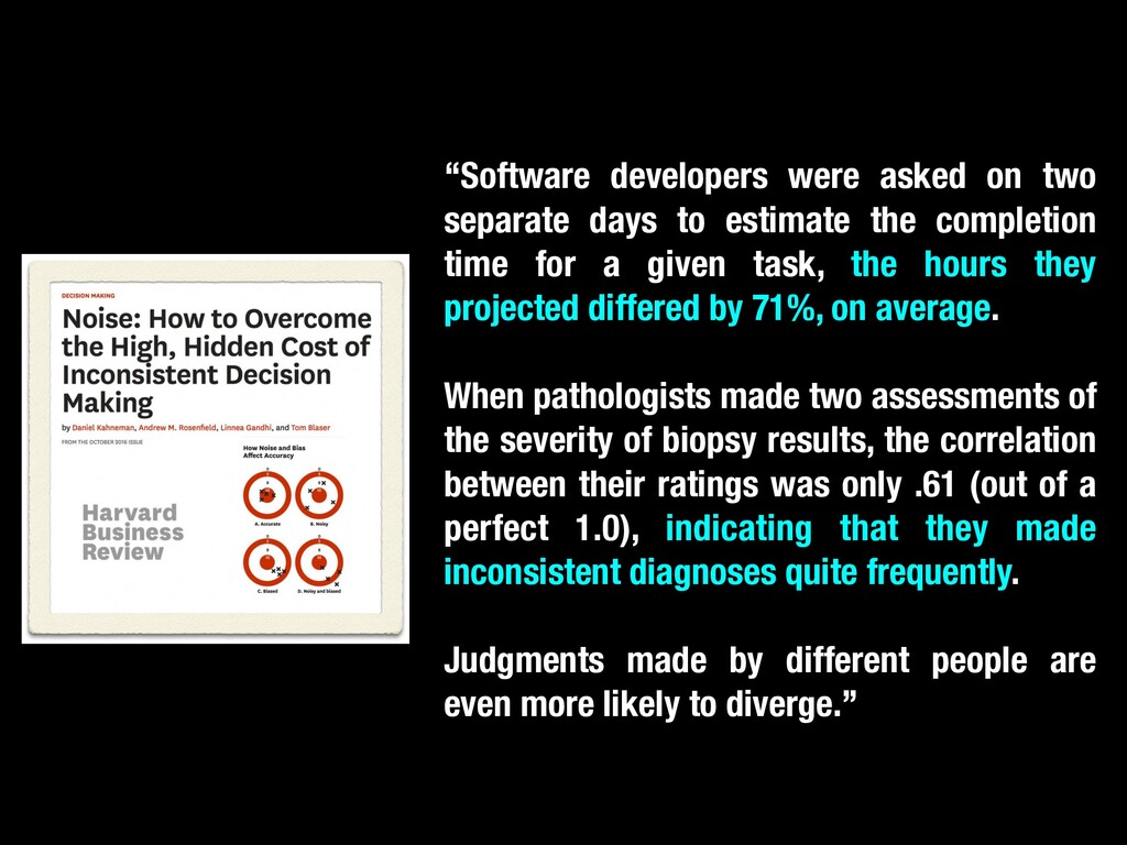 """""""Software developers were asked on two separate..."""