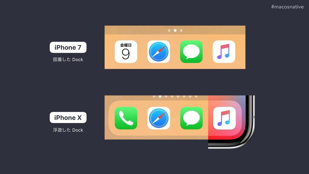 #macosnative iPhone 7 iPhone X ݻணͨ͠ Dock ු༡ͨ͠ D...
