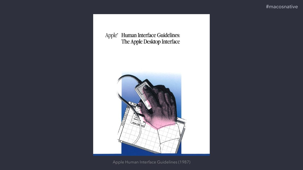 Apple Human Interface Guidelines (1987) #macosn...