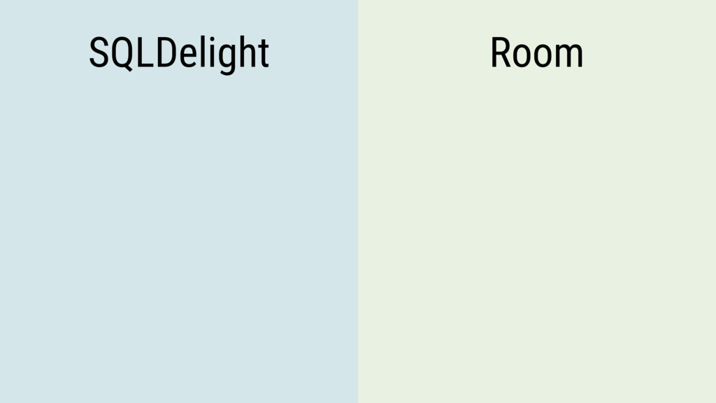 SQLDelight Room