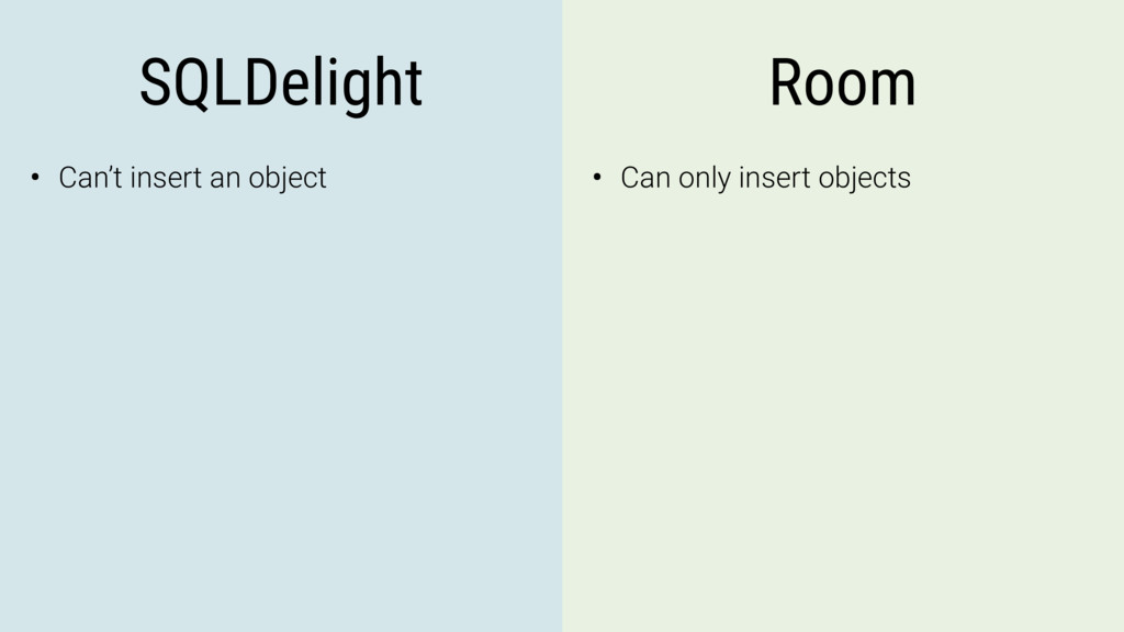 SQLDelight Room • Can't insert an object • Can ...
