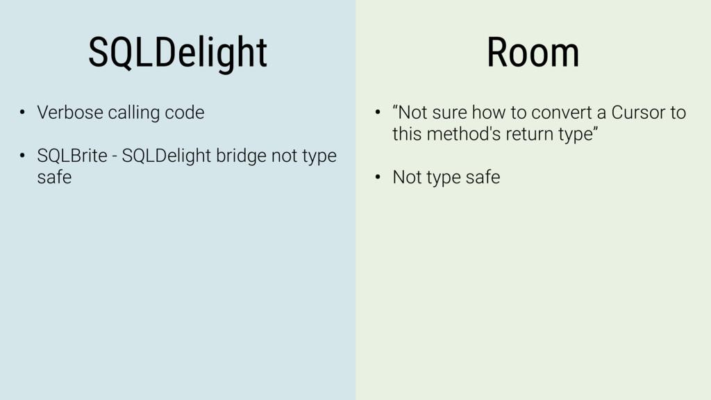 SQLDelight Room • Verbose calling code • SQLBri...