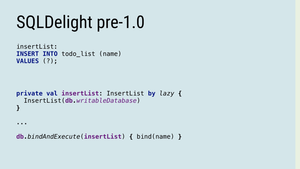 insertList: INSERT INTO todo_list (name) VALUES...