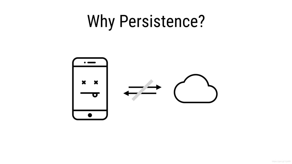 Why Persistence? https://goo.gl/1rjsN9