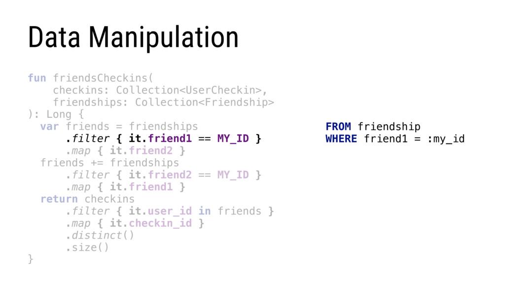 fun friendsCheckins( checkins: Collection<UserC...