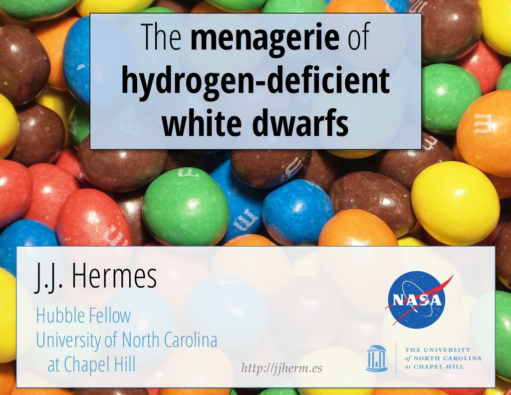 The menagerie of hydrogen-deficient white dwarf...