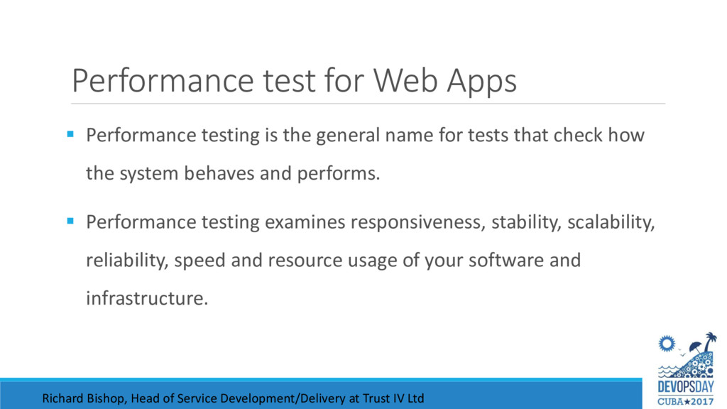 Performance test for Web Apps  Performance tes...