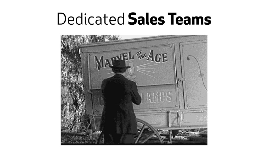 Dedicated Sales Teams