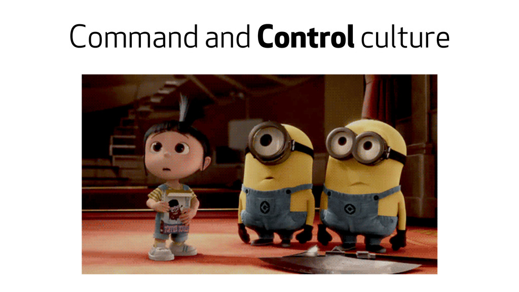 Command and Control culture