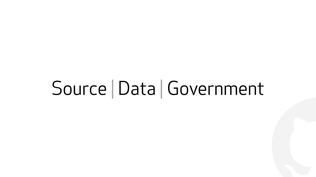 ! Source | Data | Government