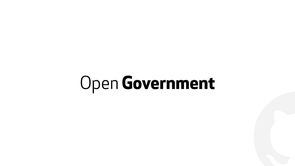 ! Open Government