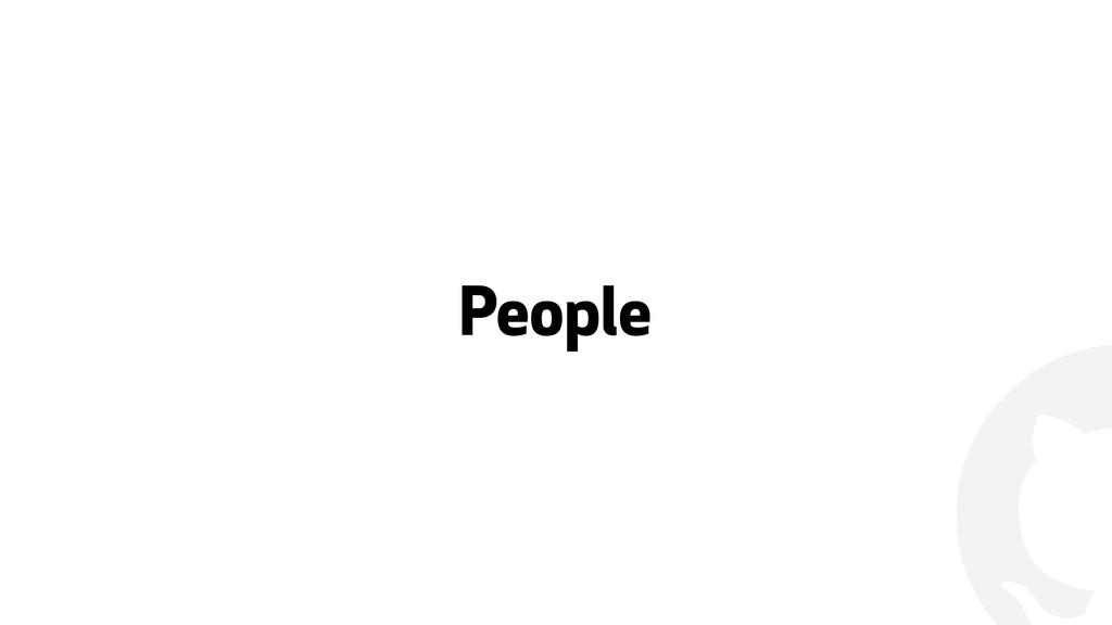 ! People