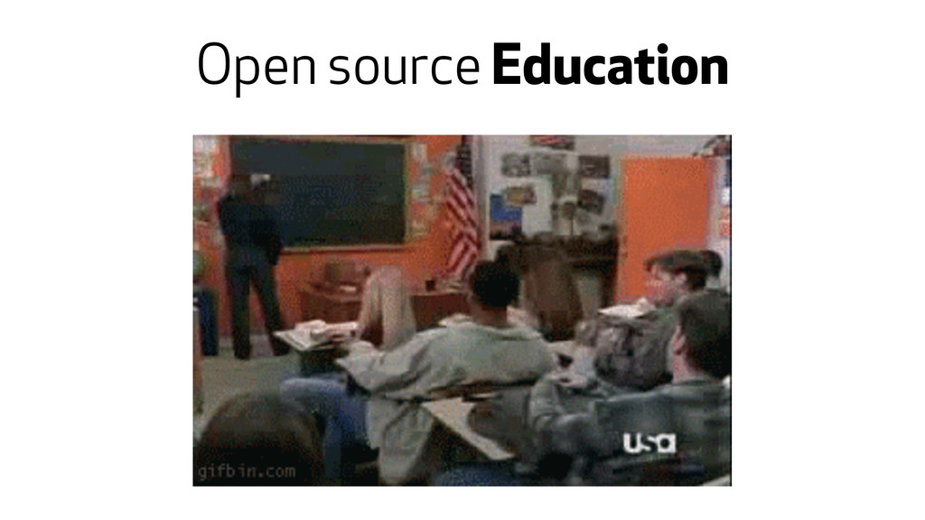 Open source Education