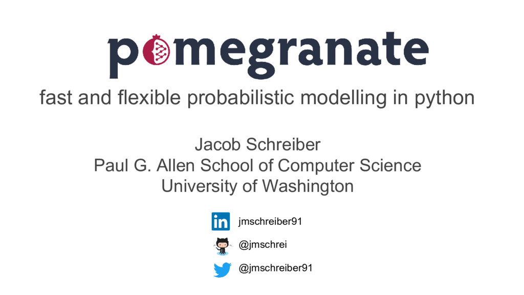 fast and flexible probabilistic modelling in py...