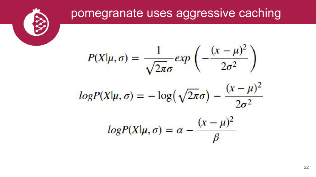 22 pomegranate uses aggressive caching