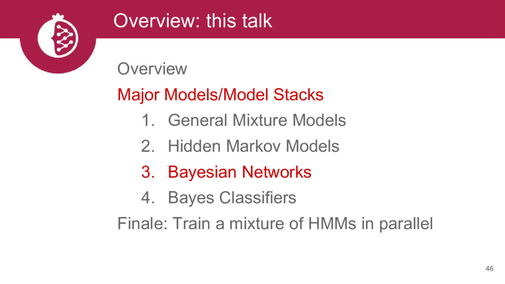 Overview: this talk 46 Overview Major Models/Mo...