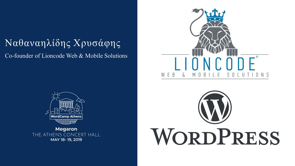 Co-founder of Lioncode Web & Mobile Solutions Ν...