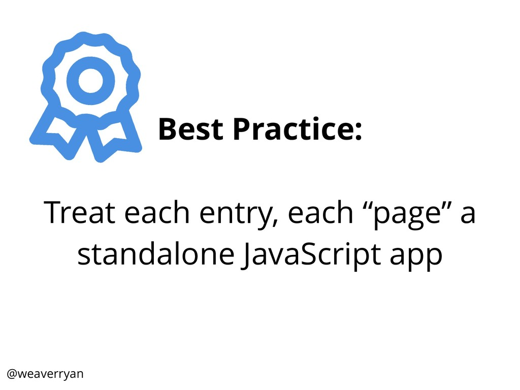 """Best Practice: Treat each entry, each """"page"""" a ..."""