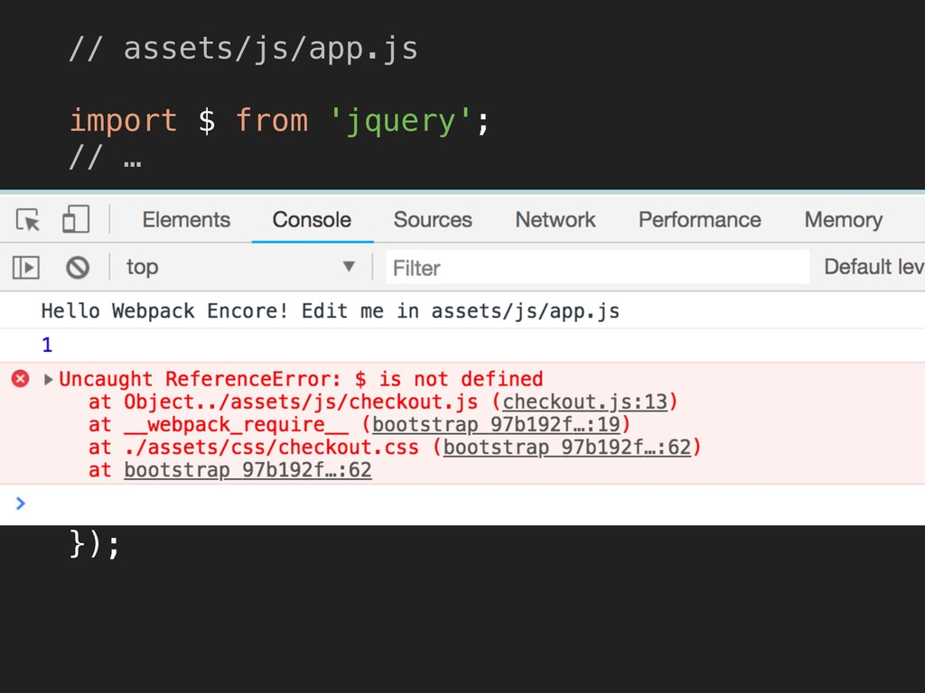"""<script src=""""/build/app.js""""></script> <script ..."""