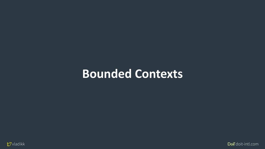 vladikk doit-intl.com Bounded Contexts