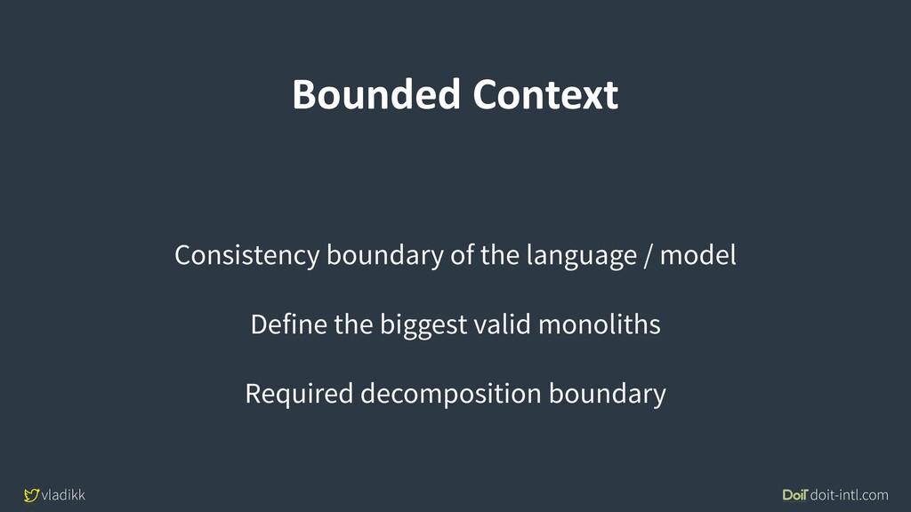 vladikk doit-intl.com Bounded Context Consisten...