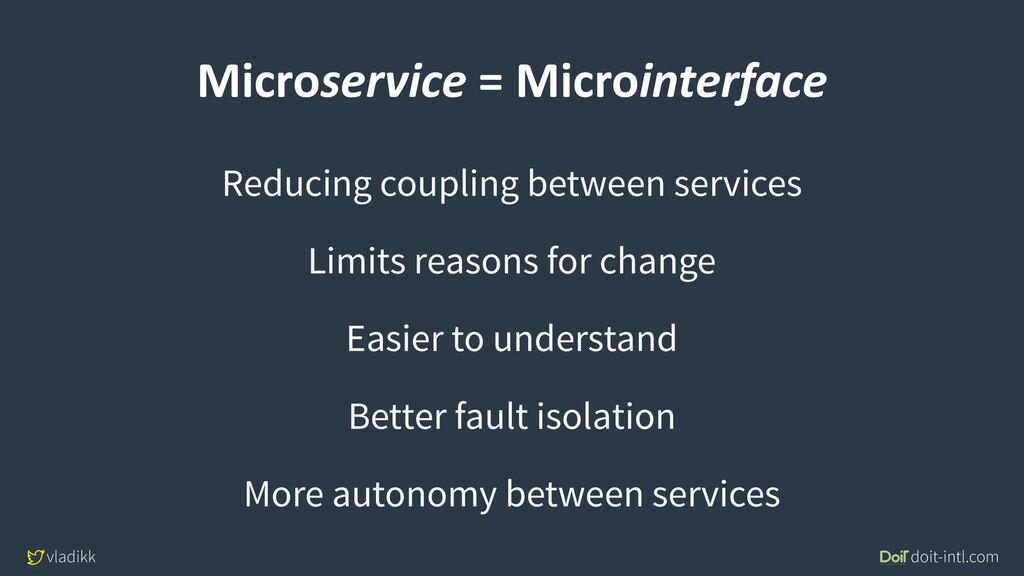 vladikk doit-intl.com Microservice = Microinter...