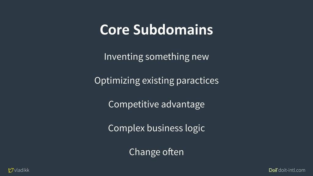 vladikk doit-intl.com Core Subdomains Inventing...