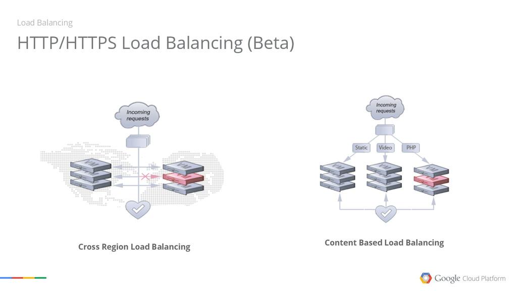 Load Balancing HTTP/HTTPS Load Balancing (Beta)...