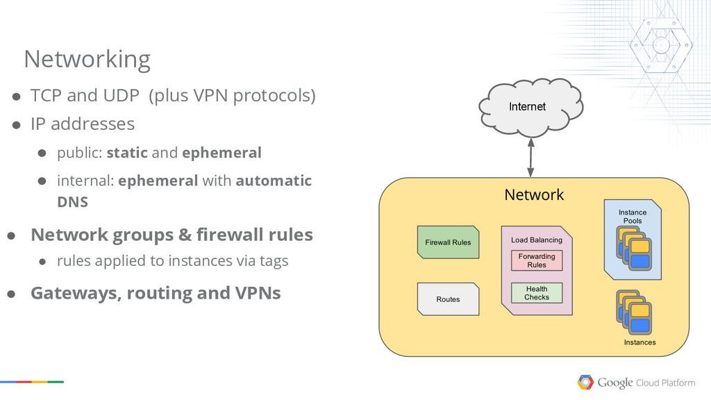 ● TCP and UDP (plus VPN protocols) ● IP address...