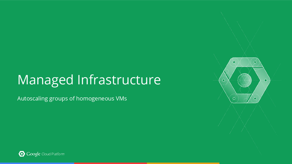 Managed Infrastructure Autoscaling groups of ho...