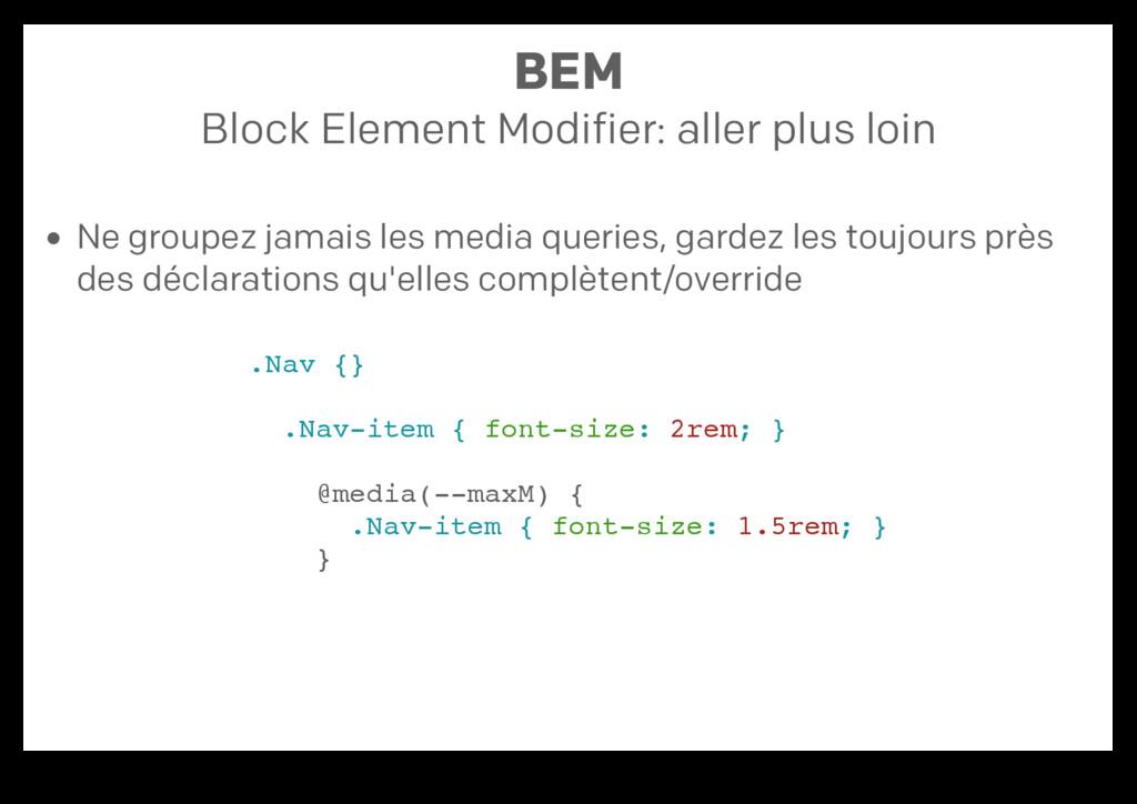 BEM Block Element Modifier: aller plus loin Ne ...