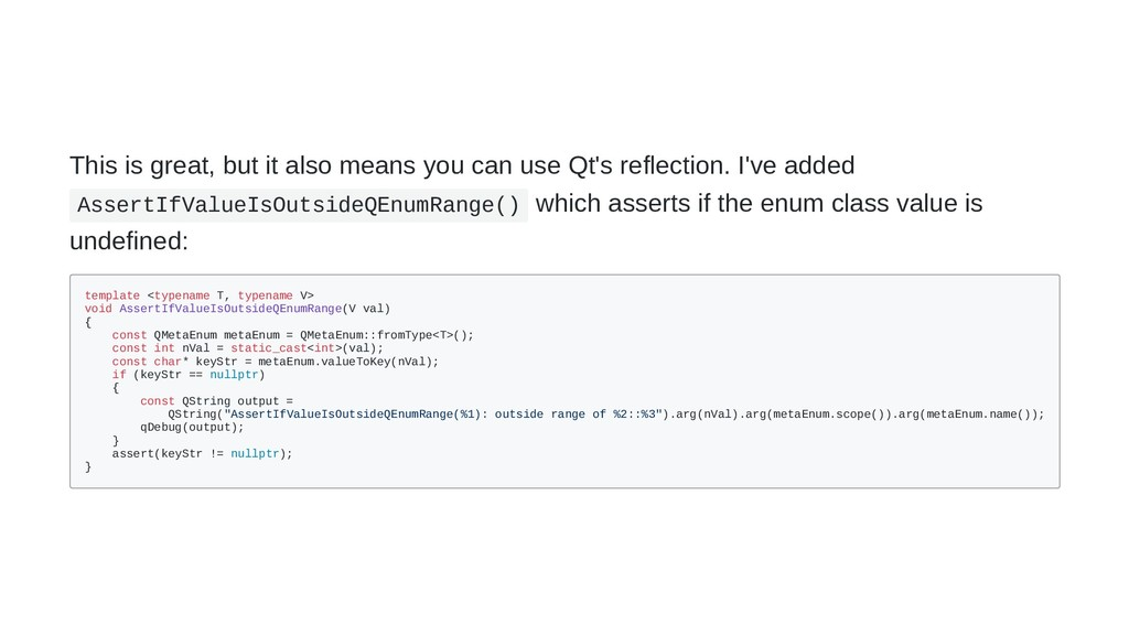 This is great, but it also means you can use Qt...