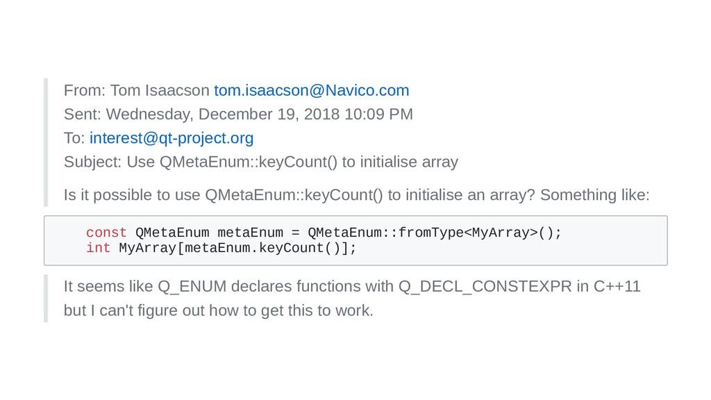 From: Tom Isaacson tom.isaacson@Navico.com Sent...
