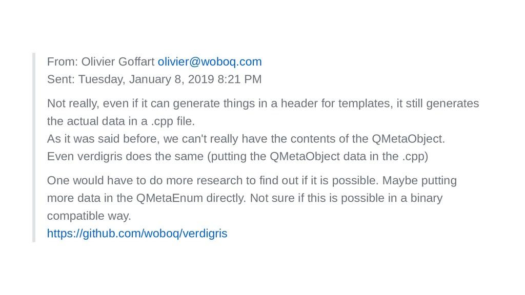 From: Olivier Goffart olivier@woboq.com Sent: T...