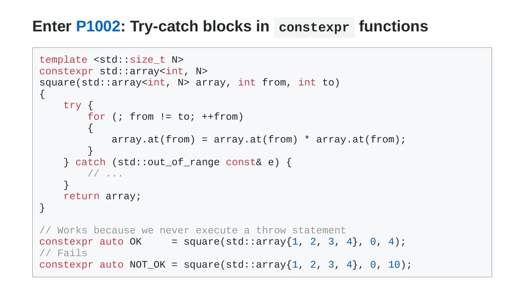 Enter P1002: Try-catch blocks in constexpr func...