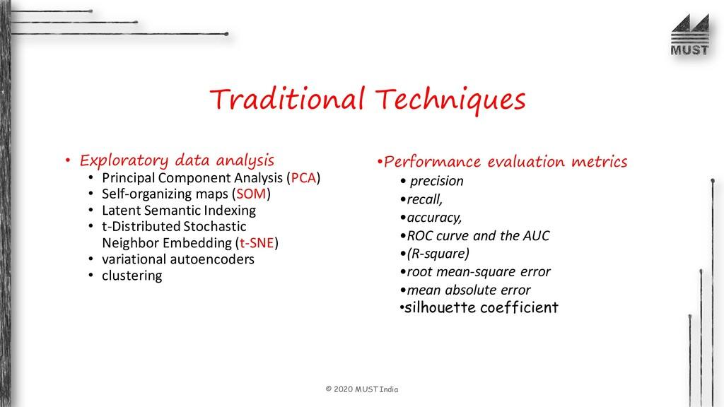 © 2020 MUST India • Exploratory data analysis •...