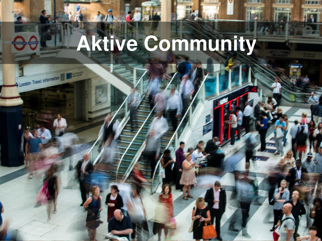 Aktive Community