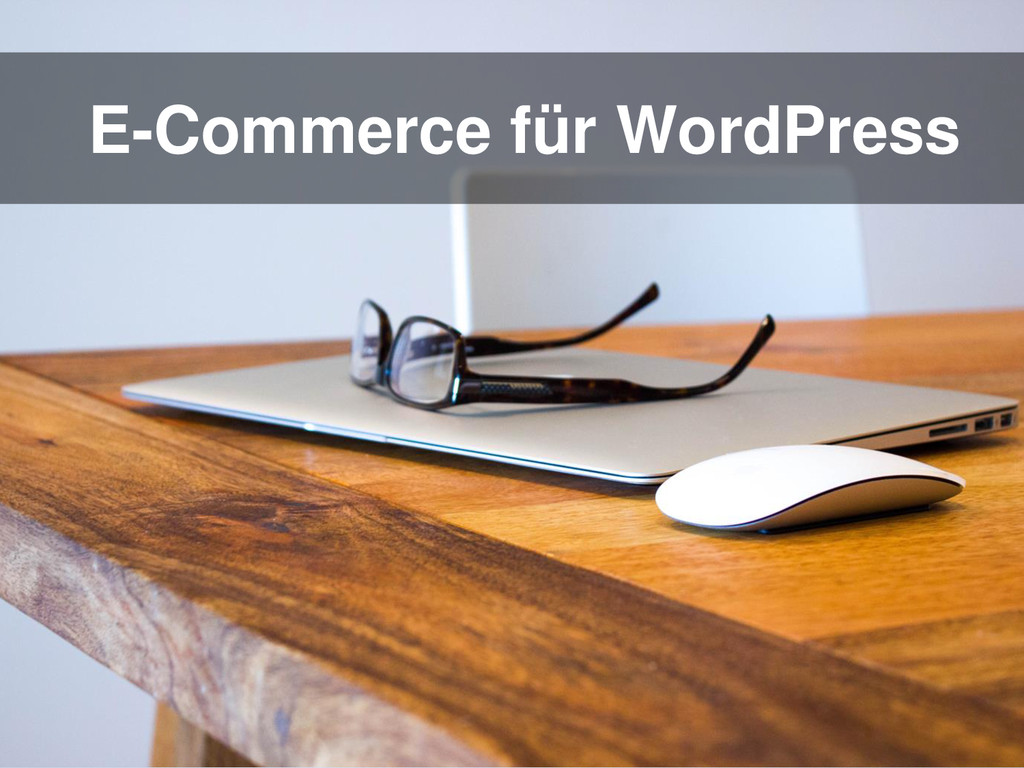 E-Commerce für WordPress