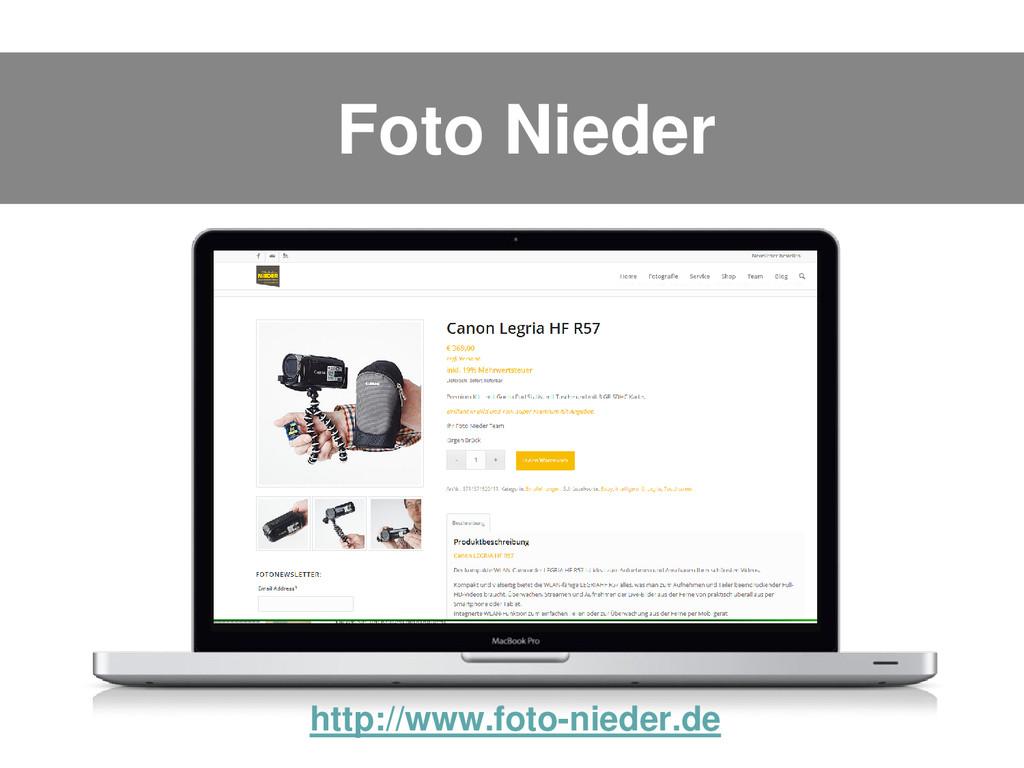 Foto Nieder http://www.foto-nieder.de