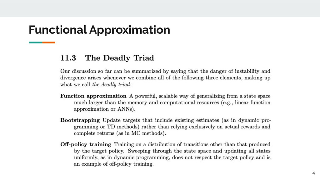 Functional Approximation 4