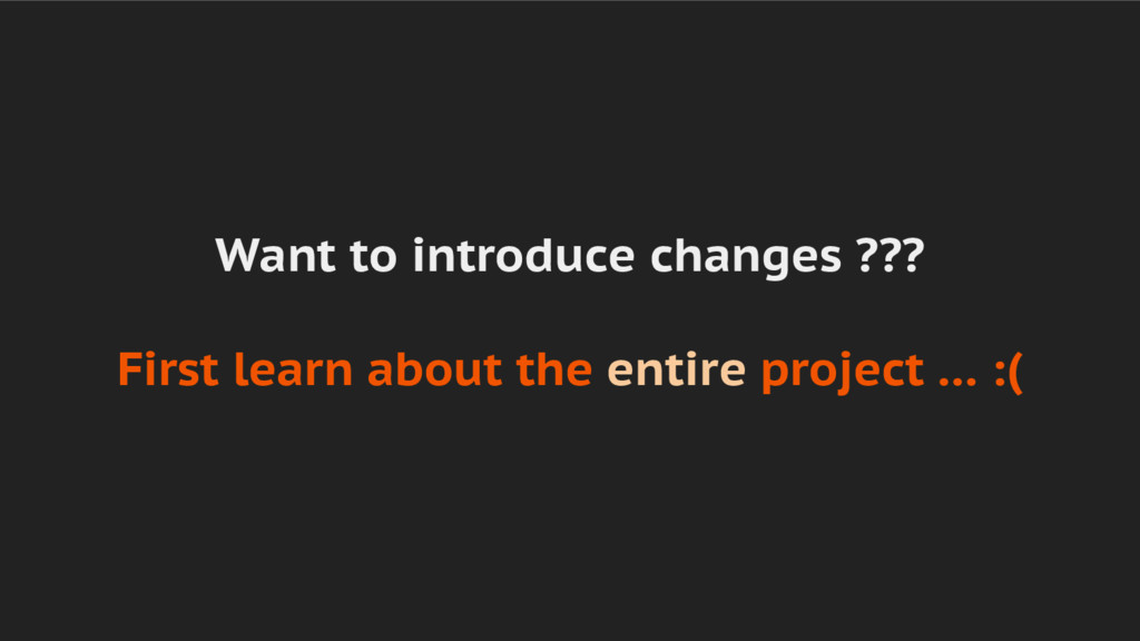 Want to introduce changes ??? First learn about...