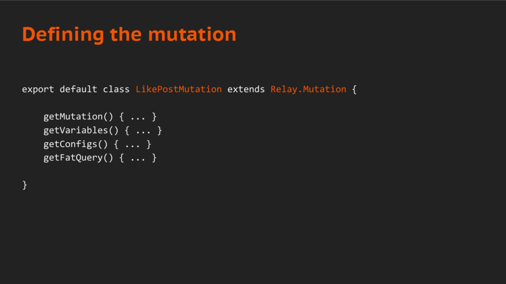 export default class LikePostMutation extends R...